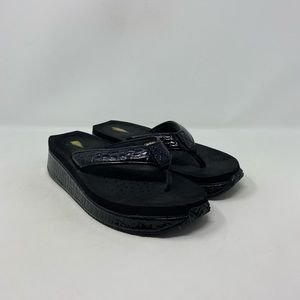 Volatile Platform Comfort Flip Flop Sandals Wmns 8